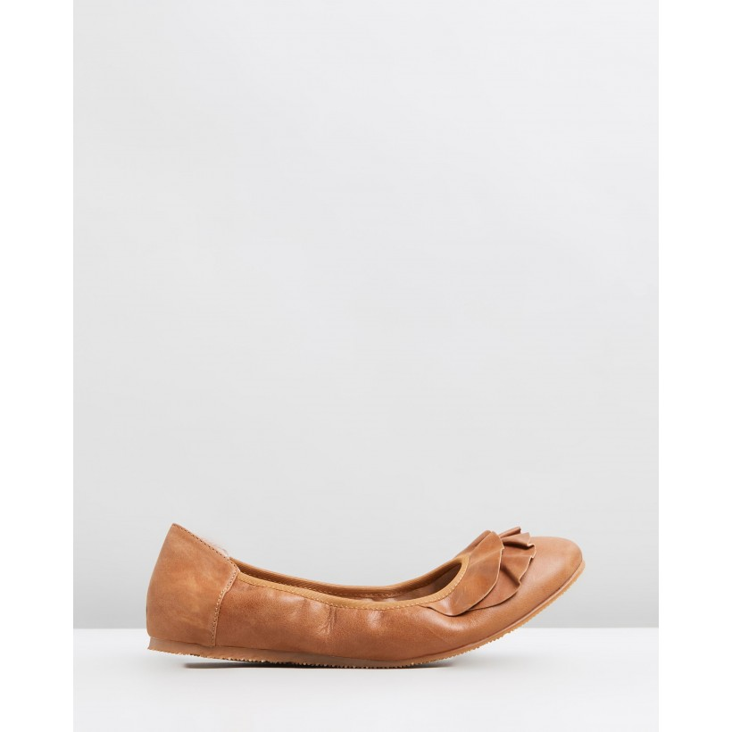 Eva Ballet Tan by Walnut Melbourne