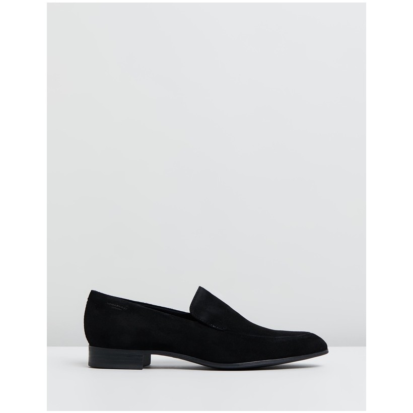 Frances Suede Loafers Black by Vagabond