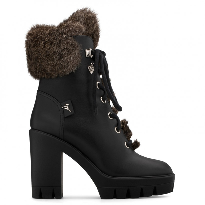 FREEDA HIGH Black By Giuseppe Zanotti