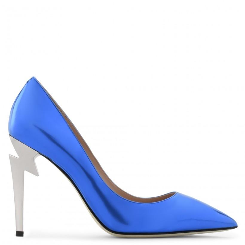 G-HEEL Blue By Giuseppe Zanotti