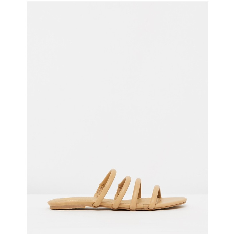 Gabriella Slides Nude Smooth by Spurr