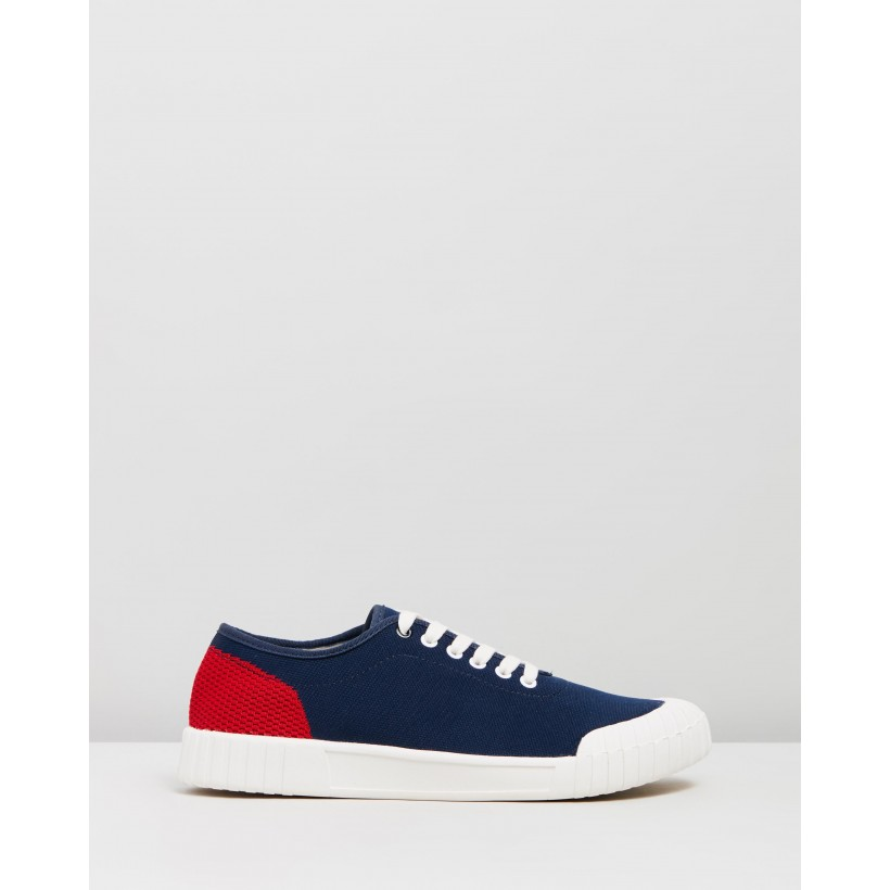 Gamer Low Navy & Red by Good News