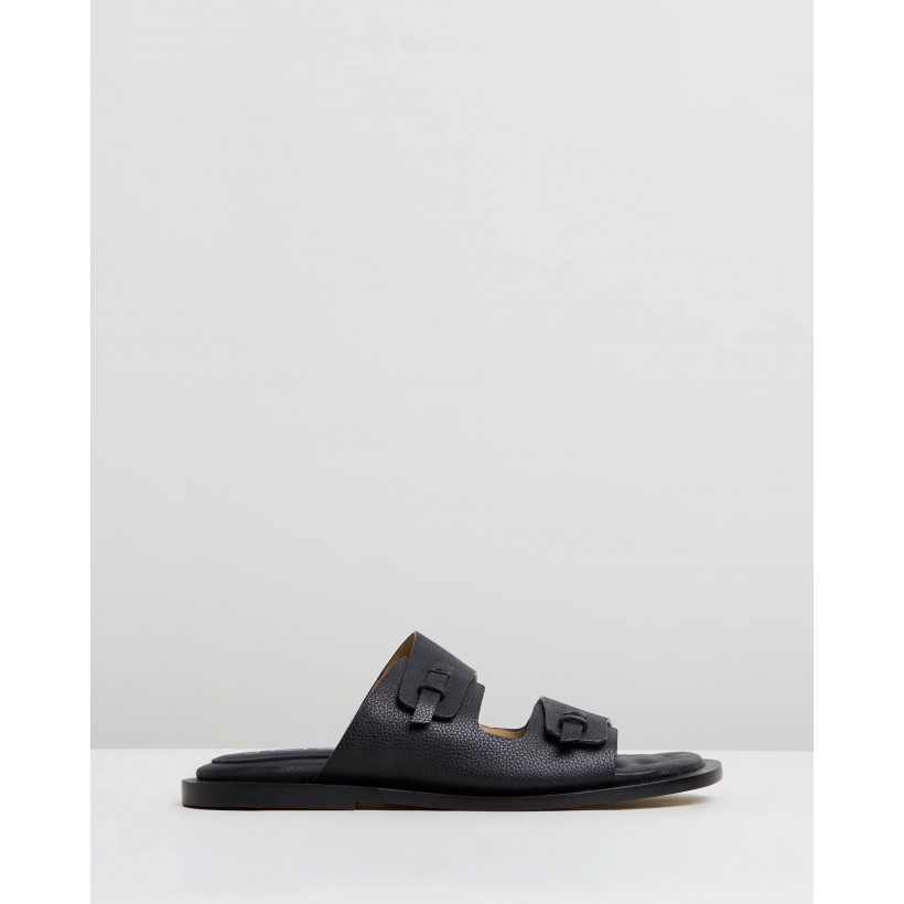 Garfunkel Sandals Black by Joseph