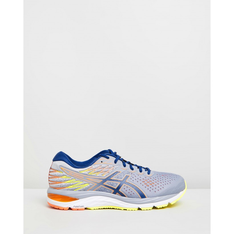 GEL-Cumulus 21 Shine - Men's Sheet Rock & Mako Blue by Asics