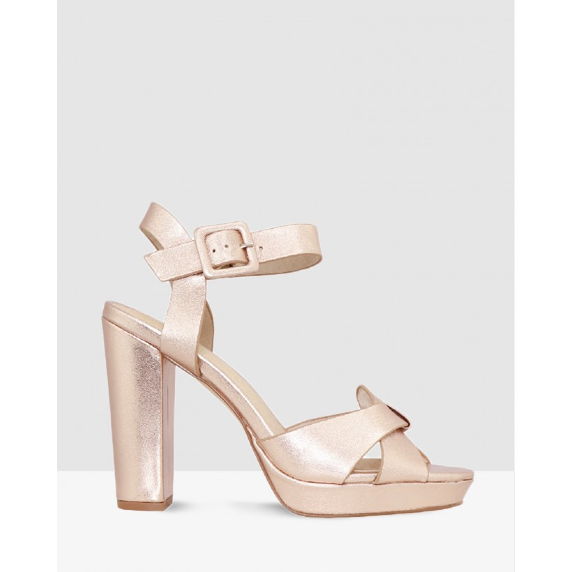 Geneva ROSE GOLD LEATHER by Nude