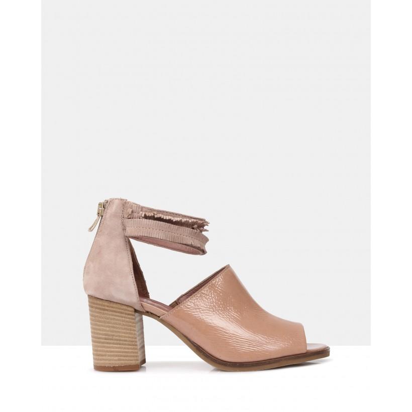 Glenda Block Heels Rosa by Sempre Di