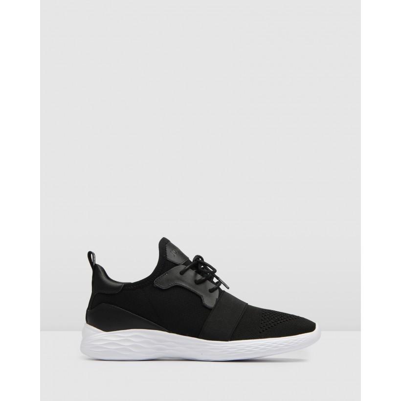 Glide Sneakers Black by Jo Mercer