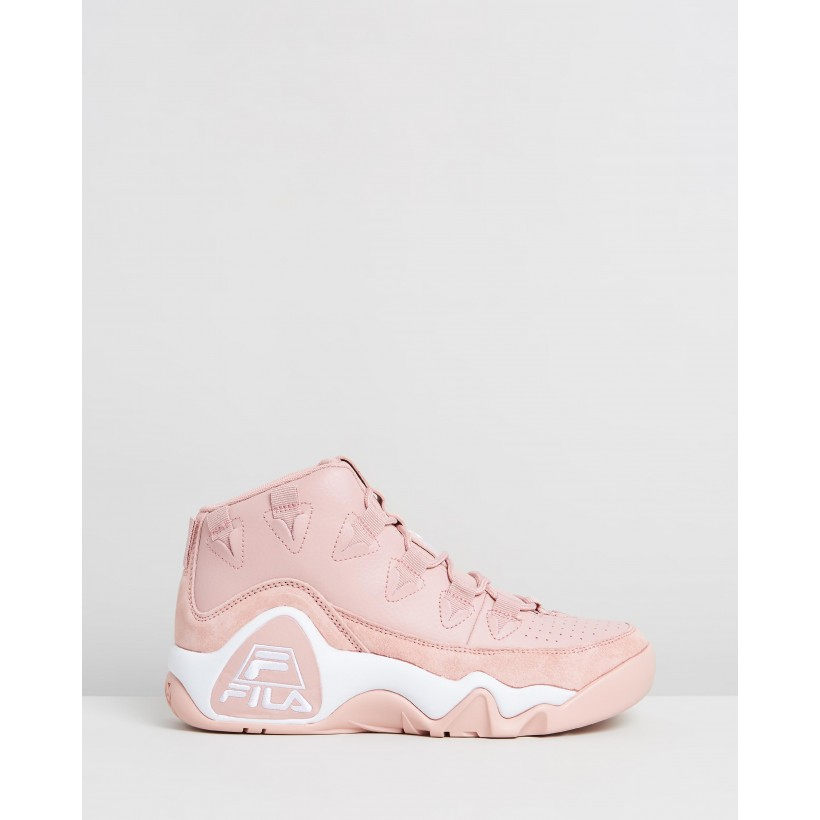 Grant Hill 1 - Women's Peachskin, Peachskin & White by Fila
