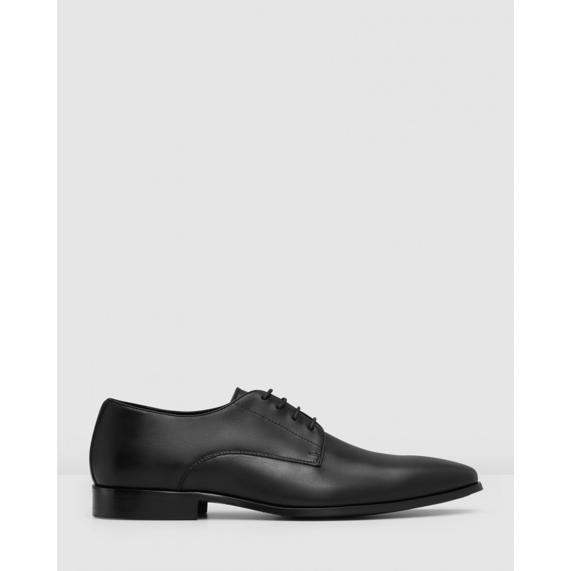 Grayson Lace Ups Black by Aquila