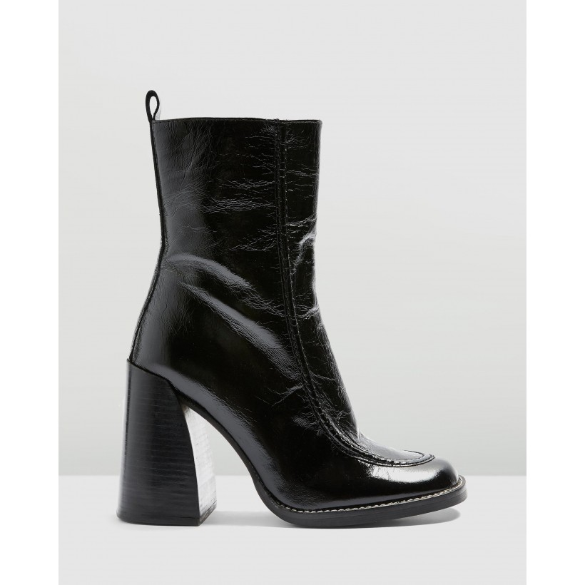 Harvey Boots Black by Topshop