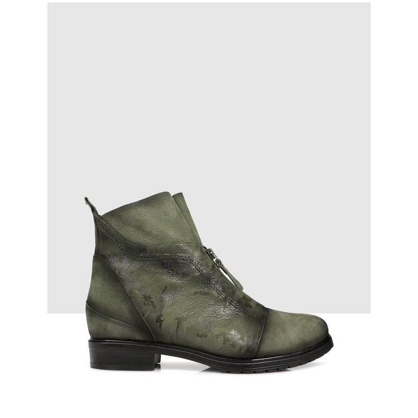 Hatia Ankle Boots 303 HAKI by S By Sempre Di