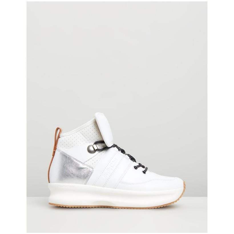 High Profile Sneakers White by See By Chlo??