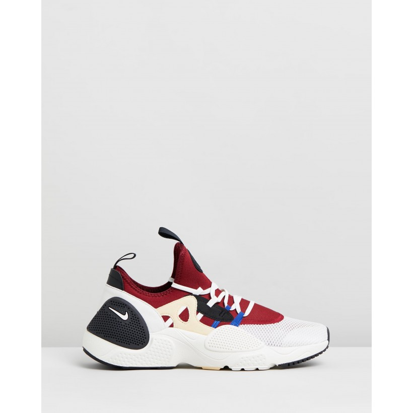 Huarache E.D.G.E. TXT - Men's Team Red, Sail Pale Vanilla & Game Royal by Nike