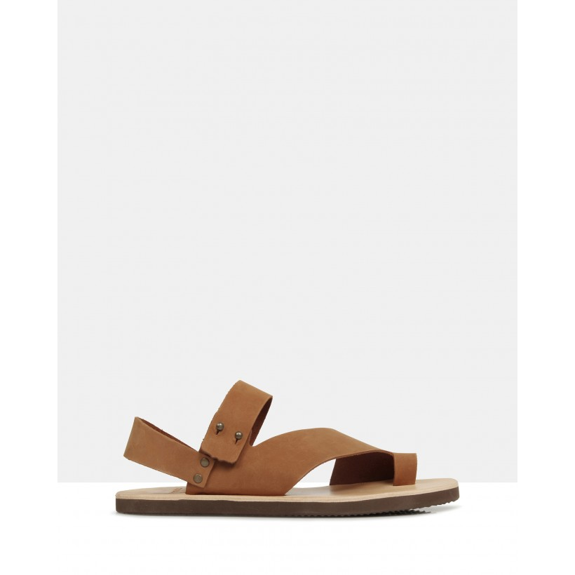 Hyde Sandals Tan by Brando