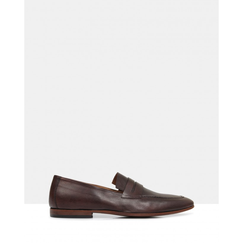 Jamal Leather Loafers Tmoro by Brando