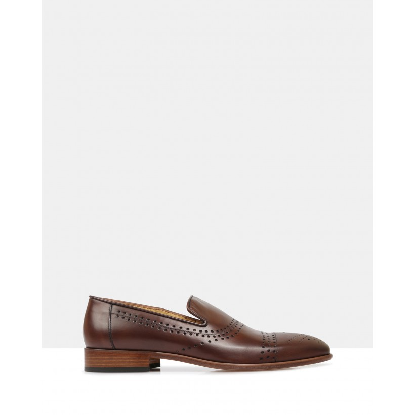 Jaylen Loafers Brown by Brando