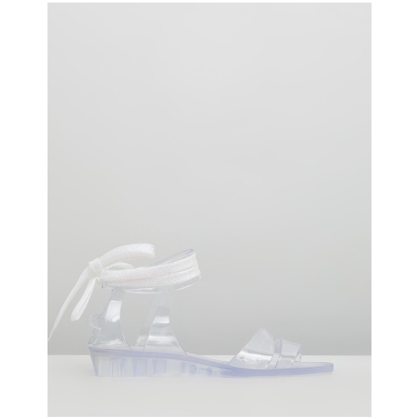Jelly Sandals Transparent Clear by See By Chlo??
