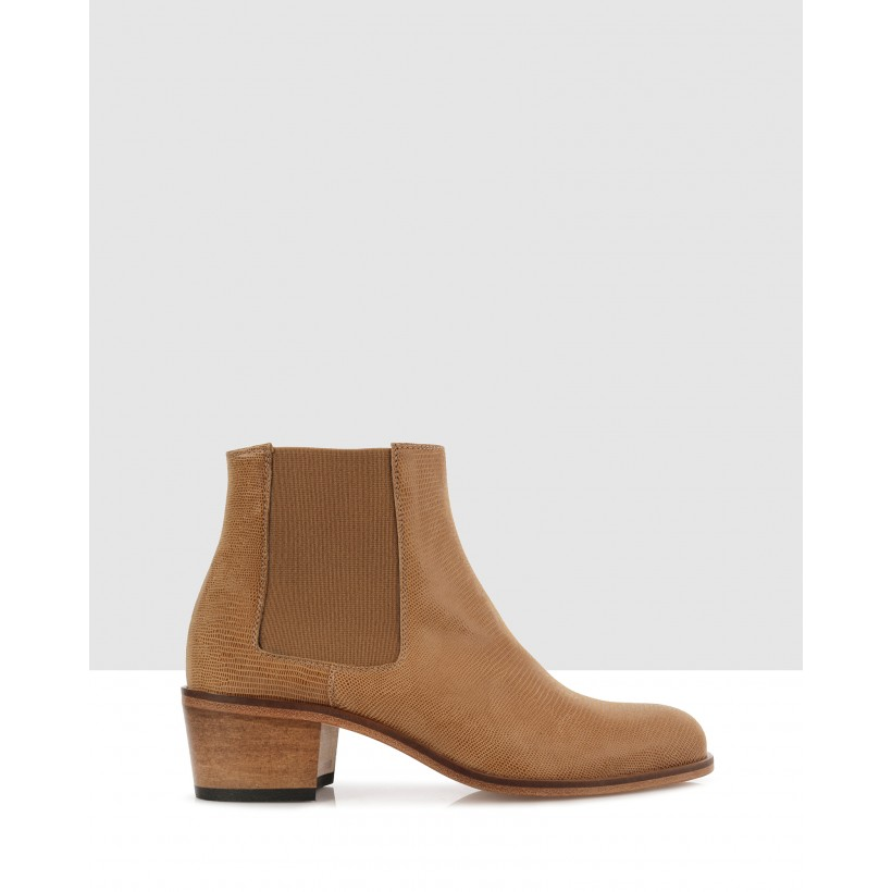 Jerry Ankle Boots 3580 (cuoio)/cuoio by Beau Coops