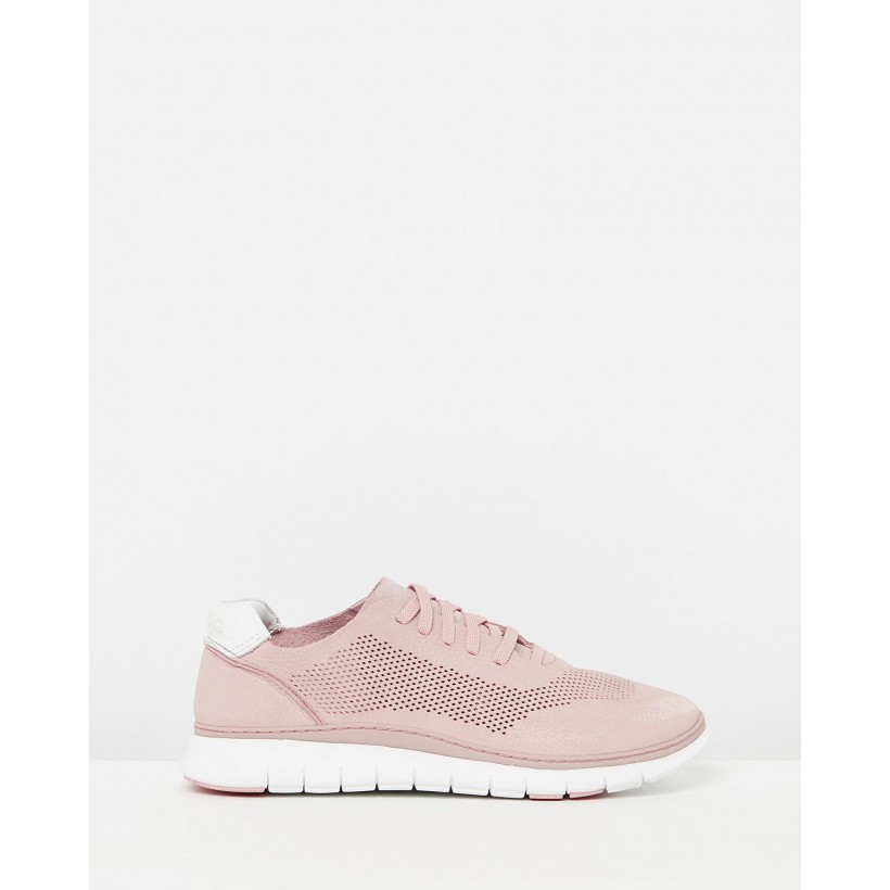 Joey Casual Sneakers Dusty Pink by Vionic