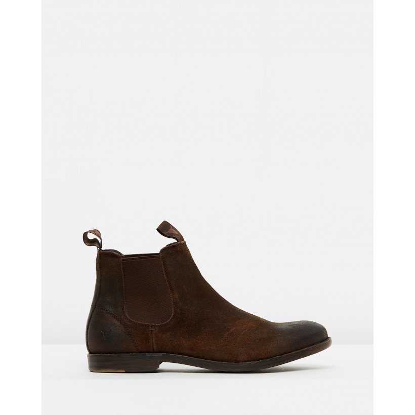 Karter Brown Suede by Windsor Smith