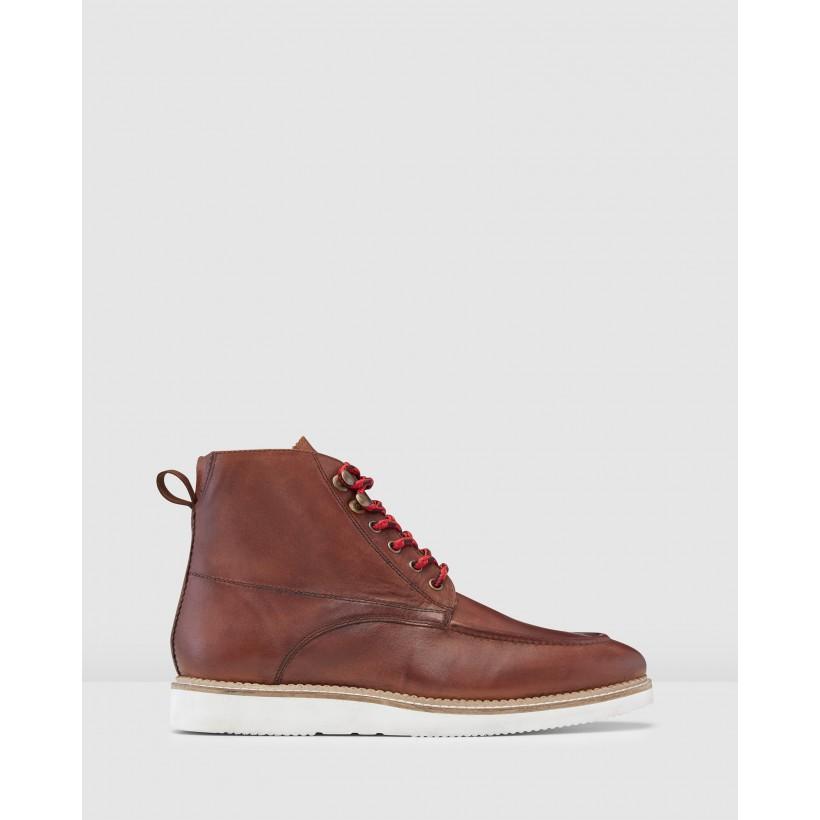 Keystone Hiking Boots Burgundy by Aquila