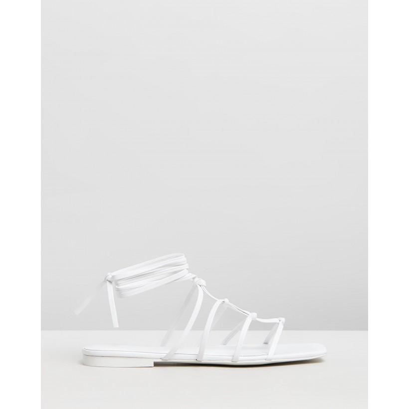 Kiny Sandal White by M.N.G