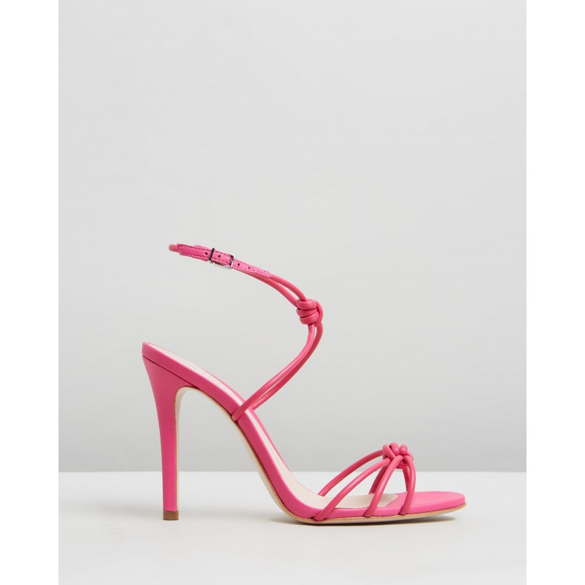 Knot Heels Pink by Schutz