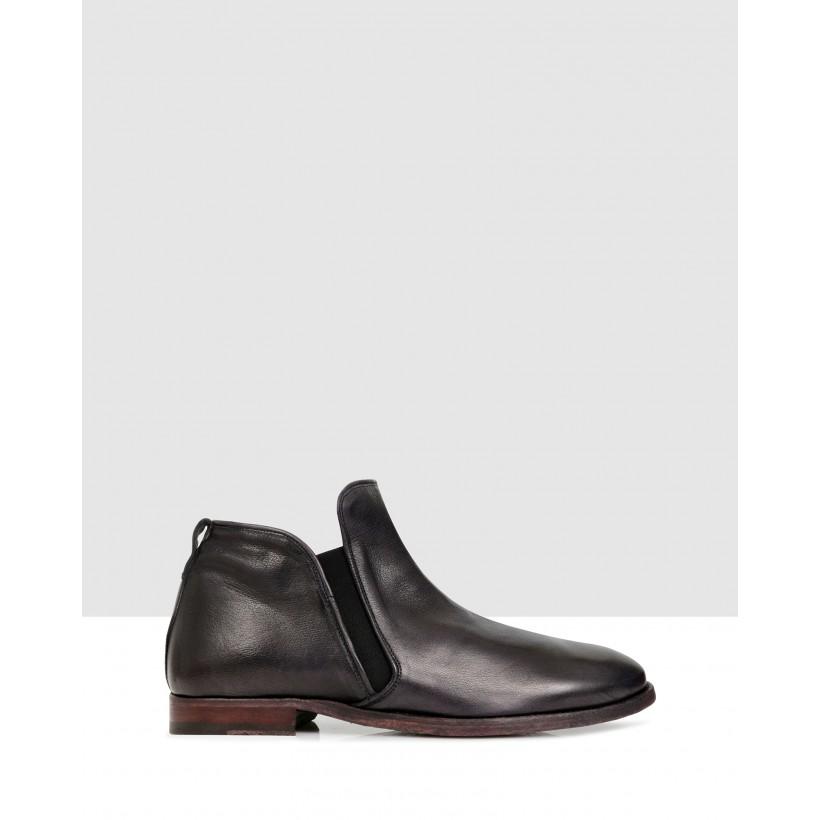 Korver Ankle Boots Antracite by Brando