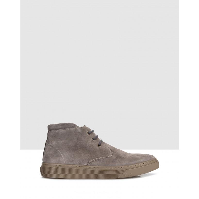 Kunio Sneakers Taupe by Brando