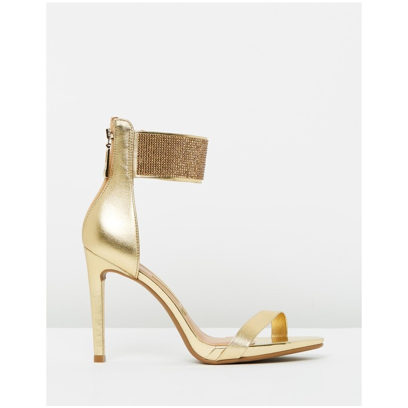 Lana Heels Gold by Vizzano