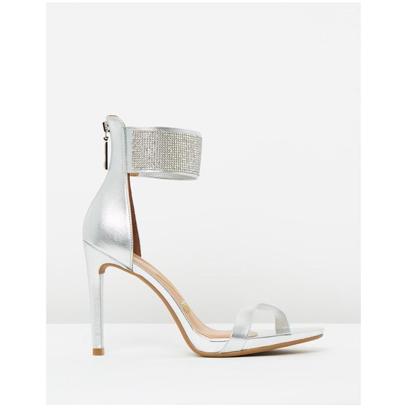 Lana Heels Silver by Vizzano