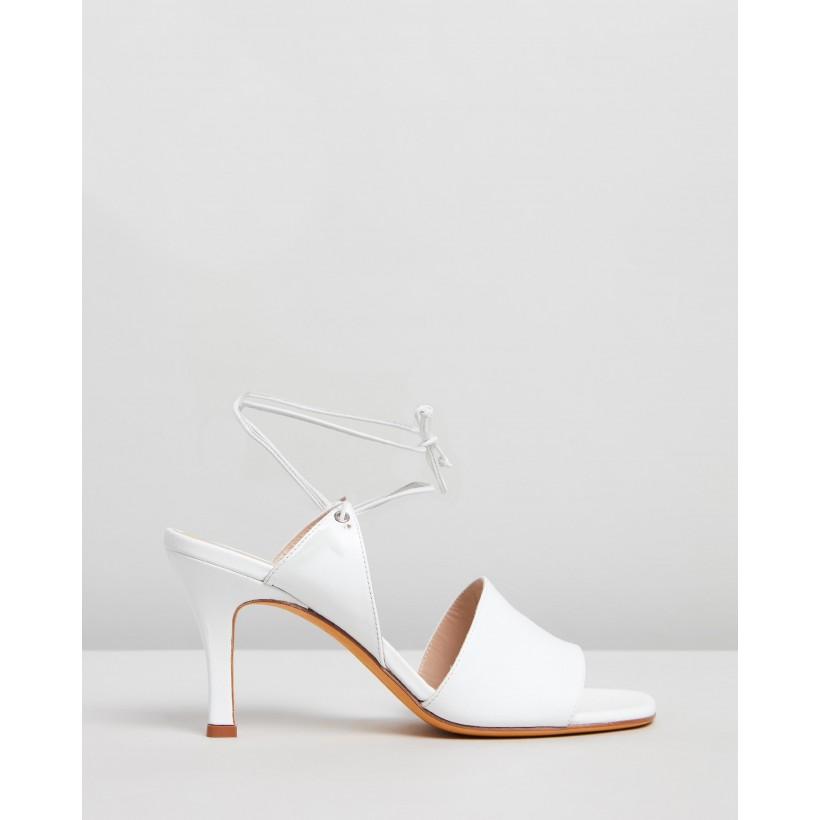 Lark Sandals White by Maryam Nassir Zadeh