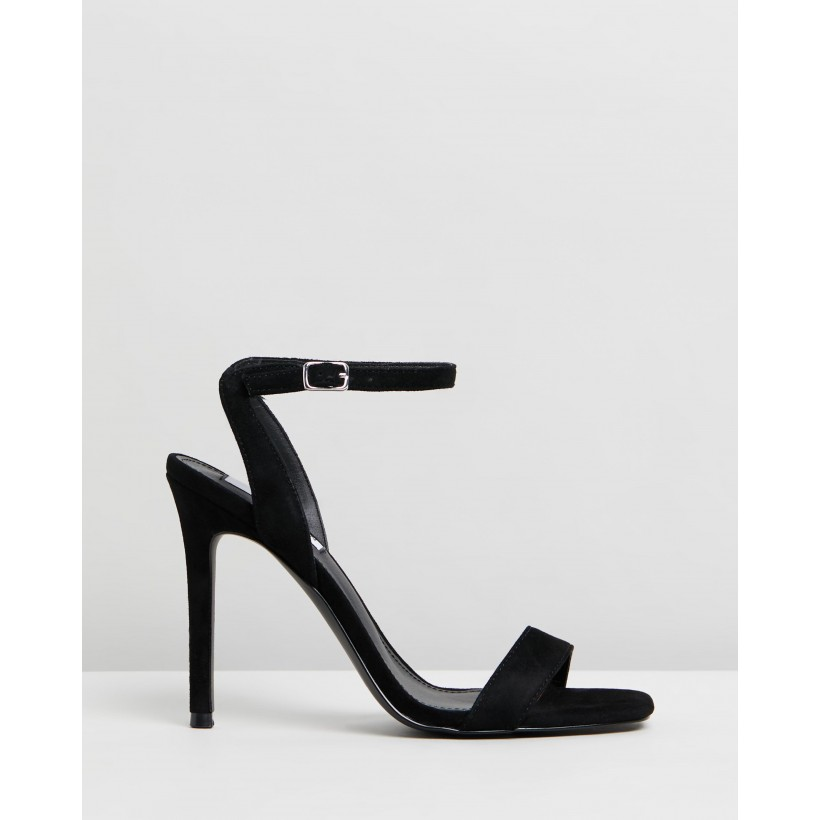 Late Black Suede by Steve Madden