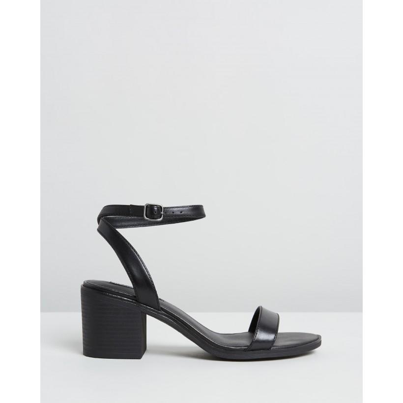 Lavendar Black Leather by Windsor Smith