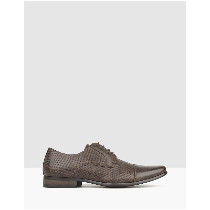 Lazer Derby Dress Shoes Chocolate by Betts