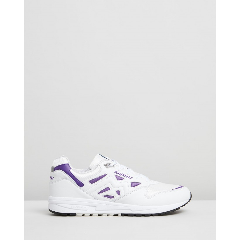 Legacy Bright White & Tillandsia Purple by Karhu