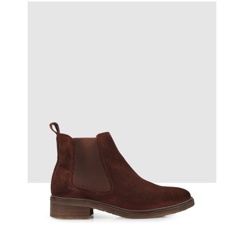 Lexa Ankle Boots Chocolate by Brando