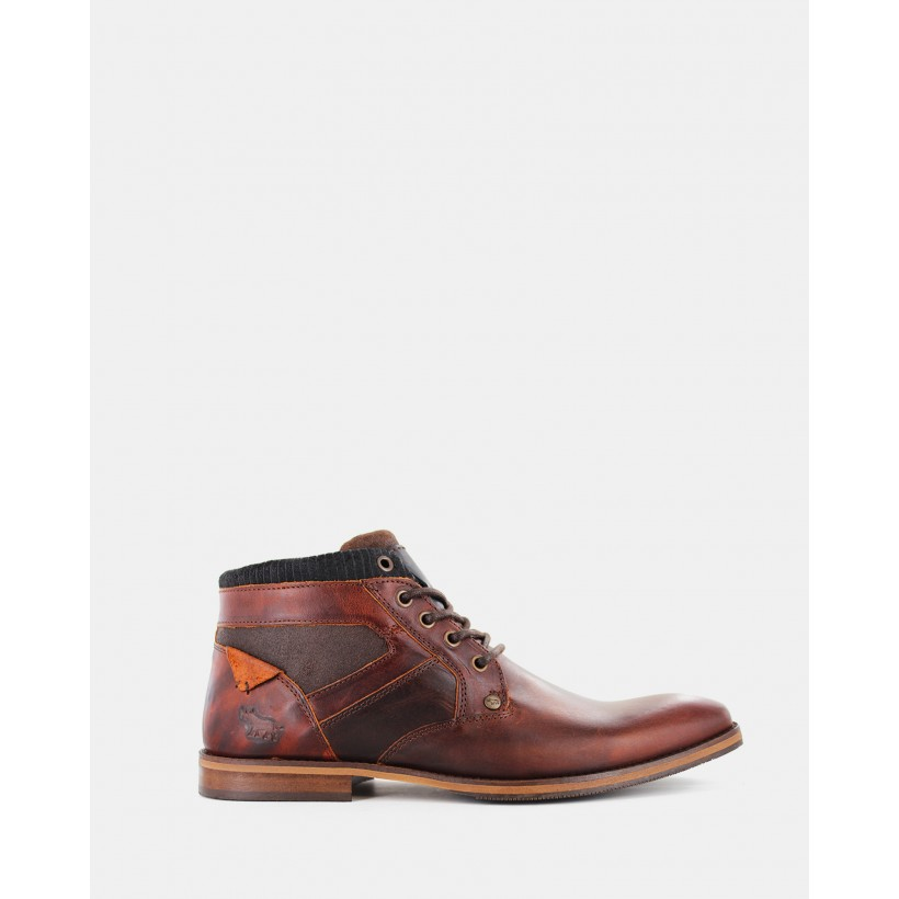 Medford Boots Rust by Wild Rhino