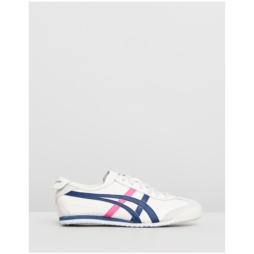 Mexico 66 - Women's Cream & Midnight Blue by Onitsuka Tiger