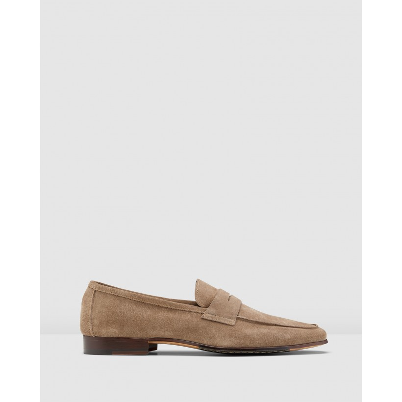 Miguel Loafers Stone by Aquila