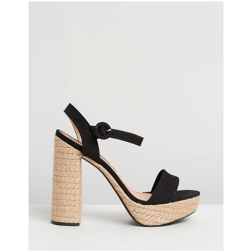 Missandei Sandals Black by Vizzano