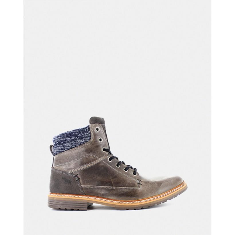 Nevada Boots Dark Grey by Wild Rhino