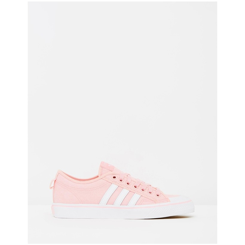 Nizza - Women's Wonder Pink & White by Adidas Originals