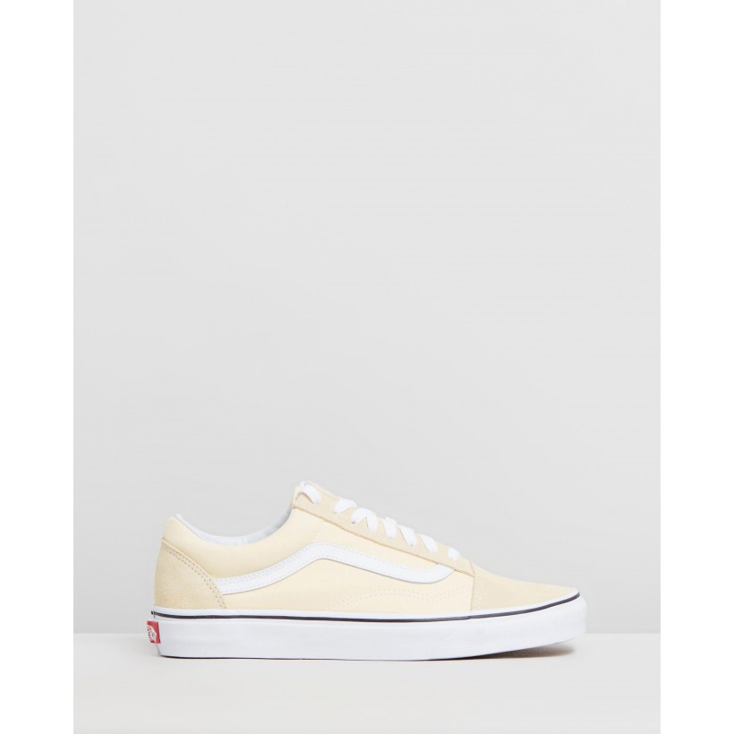 Old Skool - Unisex Vanilla Custard & True White by Vans
