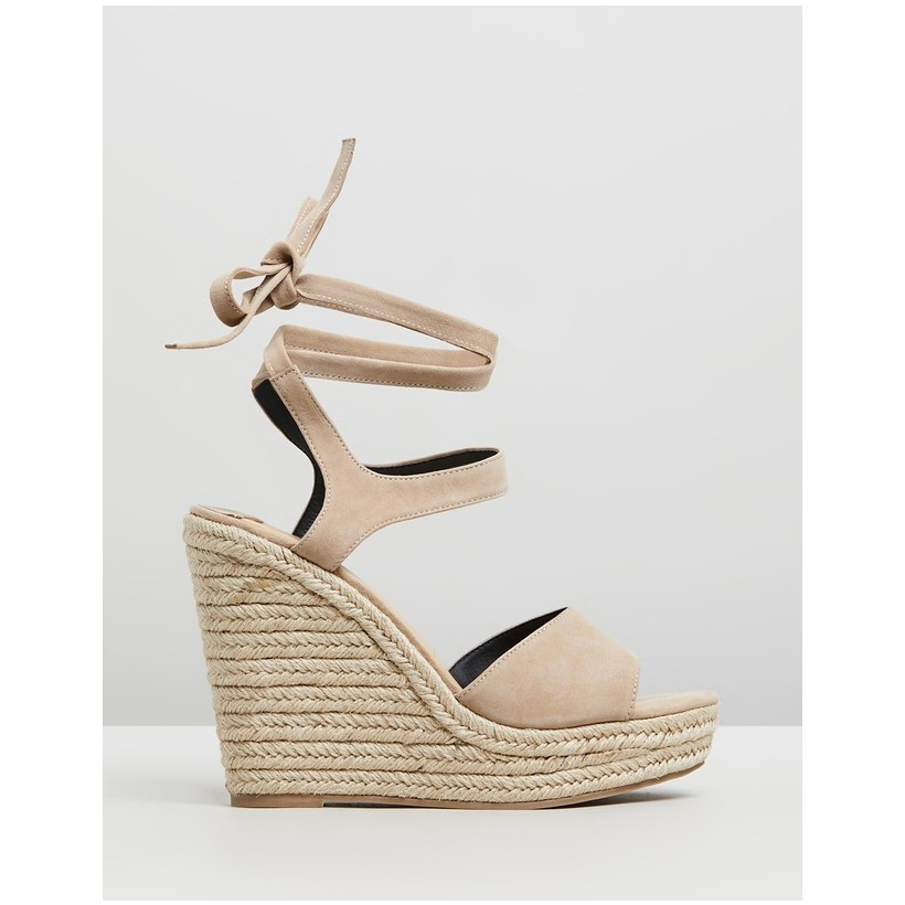 Ophelia Seashell Kid Suede by Siren