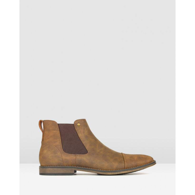 Panic Chelsea Boots Tan by Betts