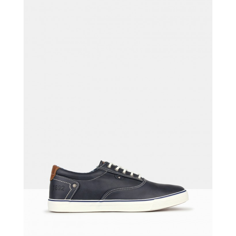 Paradise Lifestyle Sneakers Navy by Betts