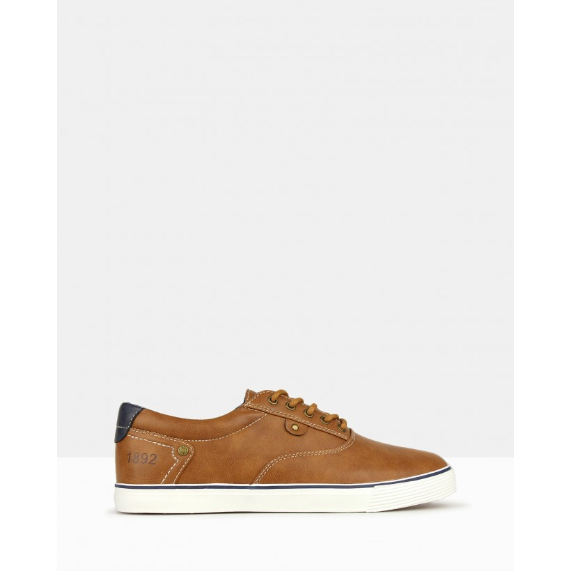 Paradise Lifestyle Sneakers Tan by Betts