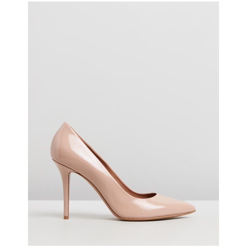 Patent Pumps Antique Pink by Emporio Armani