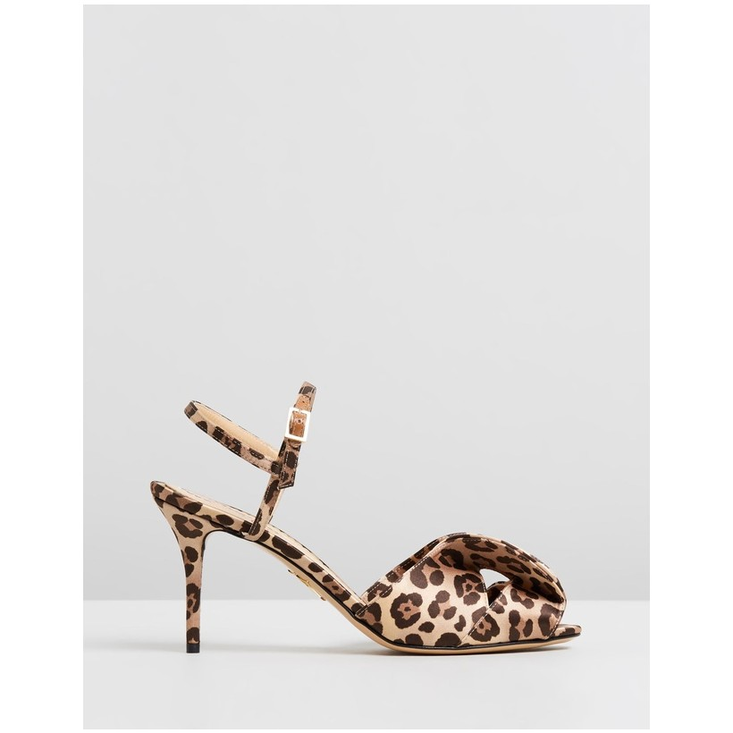 Patrice Sandals Leopard by Charlotte Olympia